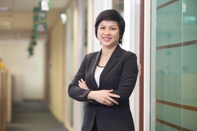 Bà Trần Thị Kim Cương, Tổng Giám đốc kiêm Giám đốc Điều hành Đầu tư Công ty TNHH Quản lý Quỹ Manulife Việt Nam.