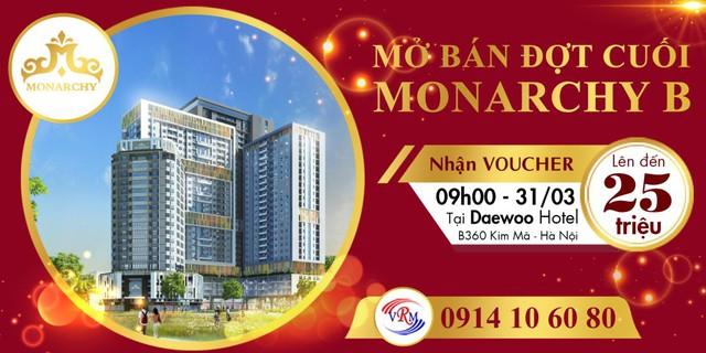 Đầu tư căn hộ cao tầng monarchy lợi nhuận quyến rũ chỉ cần 500 triệu - Ảnh 2.