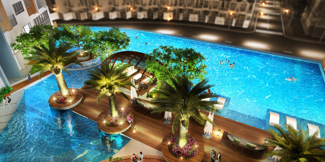"""Cận cảnh không gian sống """"resort"""" ở công trình căn hộ cao tầng của Biên Hòa - Ảnh 5."""