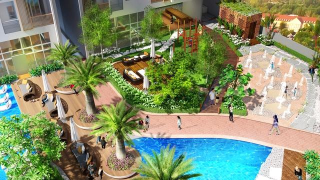"""Cận cảnh không gian sống """"resort"""" ở công trình căn hộ cao tầng của Biên Hòa - Ảnh 6."""