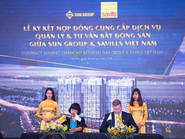 Sun Group chọn lọc Savills Việt Nam quản lý công trình căn hộ chung cư 5 sao Sun Grand City Ancora Residence - Ảnh 1.