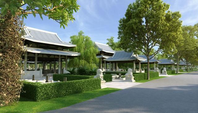 Mô hình nghĩa trang sinh thái Sala Garden - Ảnh 2.