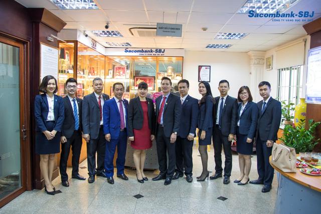 Sacombank-SBJ khai trương chi nhánh tại khu vực Hà Nội