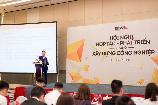Giza E&C tổ chức thành công Hội nghị hợp tác – phát triển trong xây dựng công nghiệp 2018