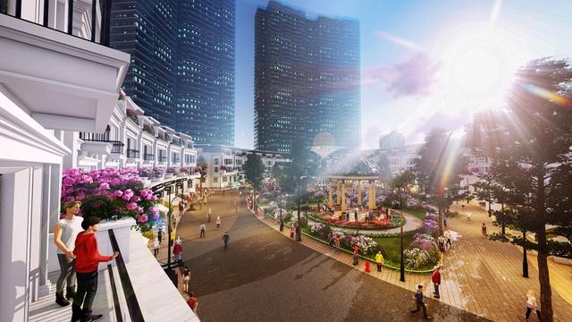 Sắp mở bán chuỗi nhà phố thương mại hút khách khu vực Tây Hồ Tây - Ảnh 1.