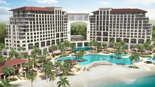 """Những hình ảnh cực """"chất"""" về dòng khách sạn 5n sao FLC Grand Hotel Quang Binh - Ảnh 1."""