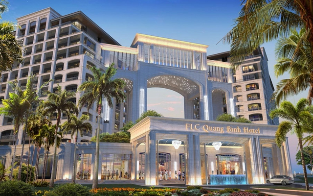 """Những hình ảnh cực """"chất"""" về dòng khách sạn 5n sao FLC Grand Hotel Quang Binh - Ảnh 5."""