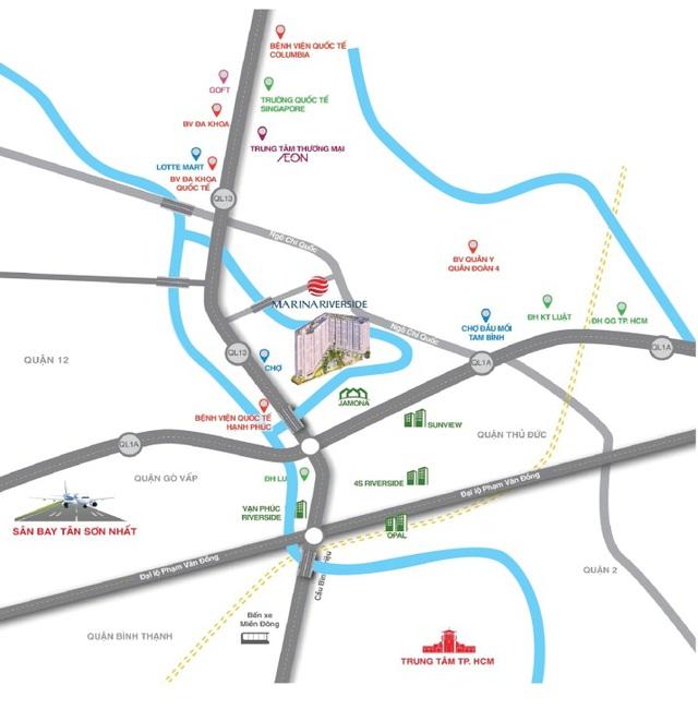 Chính thức ra mắt căn hộ 100% view sông ở Bắc Sài Gòn - Ảnh 1.