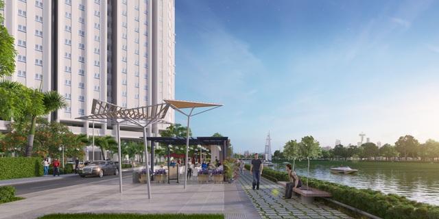 Chính thức công bố căn hộ cao tầng 100% view sông ở Bắc Sài Gòn - Ảnh 2.