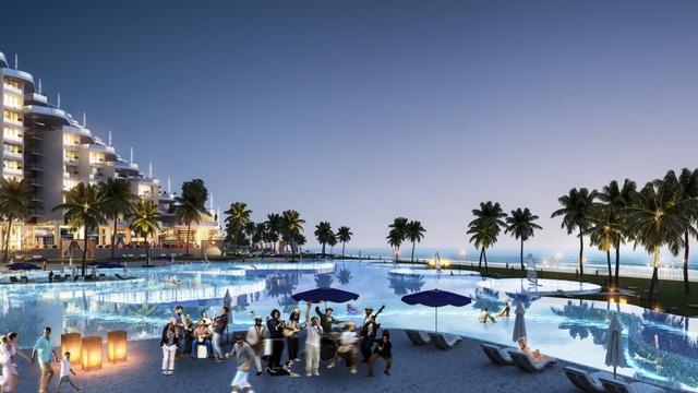 Dự án có bể bơi dài nửa km bên bờ biển bãi Dài, Cam Ranh - Ảnh 2.