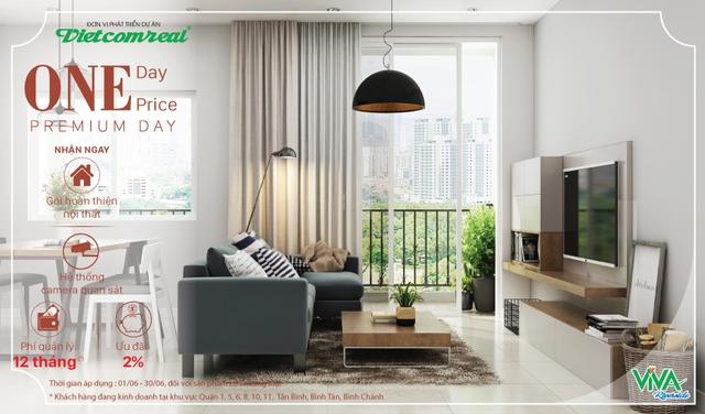 Viva Riverside sở hữu ưu điểm khác biệt cùng chương trình One Day, One Price – Premium Day - Ảnh 1.