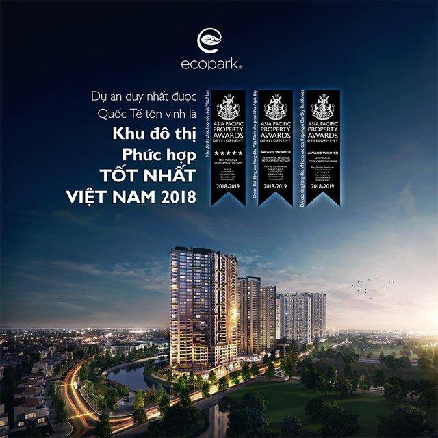 Ecopark nhận giải thưởng khu đô thị phức hợp tốt nhất Việt Nam - Ảnh 1.