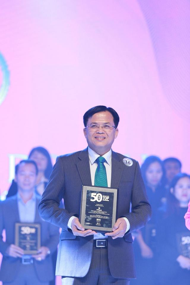 """VPBank lọt """"top"""" 50 công ty niêm yết tốt nhất Việt Nam - Ảnh 1."""