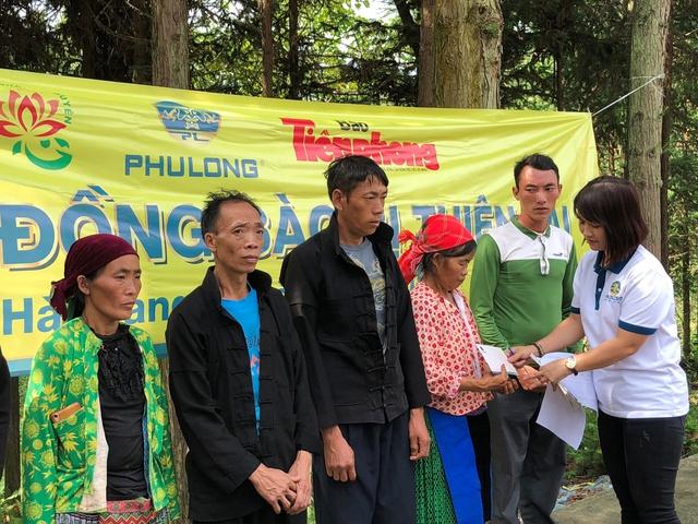 Tấm lòng Phú Long hướng về vùng lũ Hà Giang - Ảnh 1.