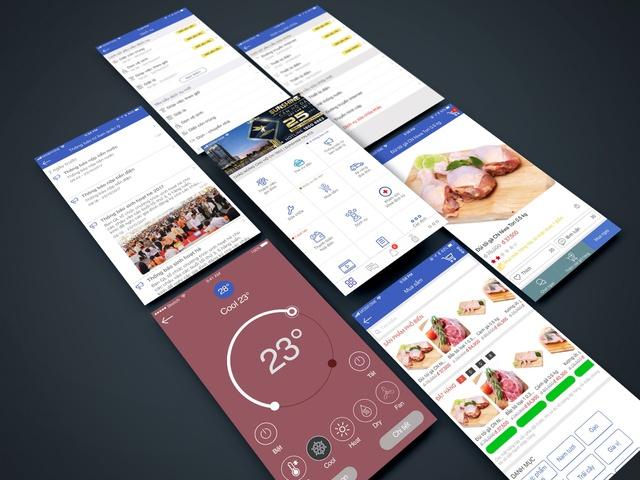 """Ứng dụng App Sunshine Home như một """"quản gia thông minh"""" của cư dân Sunshine Center."""