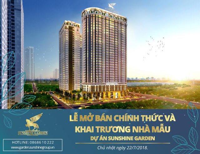 Sunshine Garden chính thức mở bán và ra mắt căn hộ mẫu - Ảnh 1.