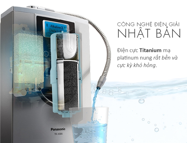 Cùng Panasonic trải nghiệm máy lọc nước uống mới nhất tại Thế Giới Điện Giải - Ảnh 1.