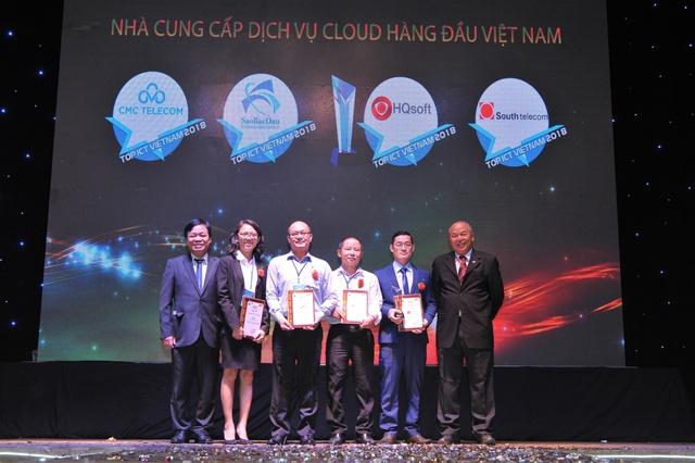CMC Telecom được vinh danh là Nhà cung cấp điện toán đám mây hàng đầu Việt Nam - Ảnh 1.