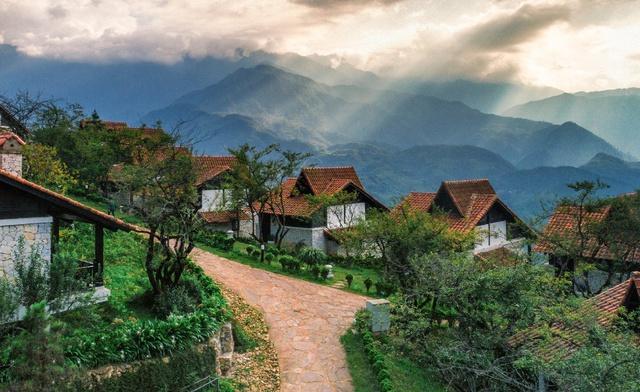 Phong cảnh tuyệt đẹp tại khu biệt thự Sapa Jade Hill.
