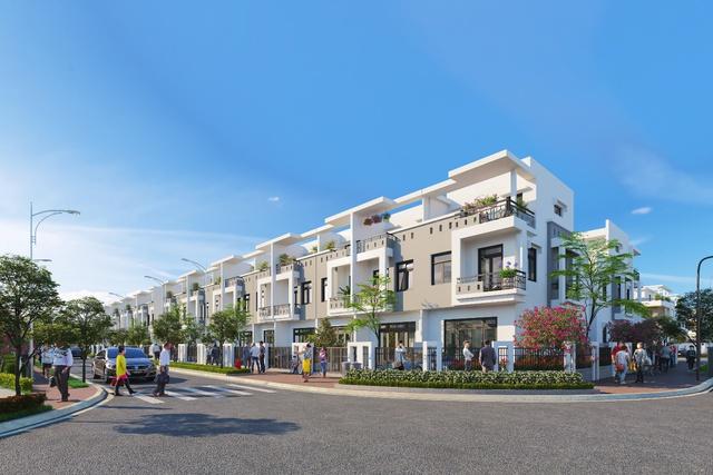 Viva Park có mức giá 1,8 tỷ đồng/căn nhà phố sân vườn xây sẵn (1 trệt 2 lầu).