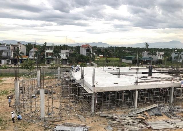 Chuẩn bị cất nóc dự án Thành phố giáo dục IEC Quảng Ngãi - Ảnh 1.