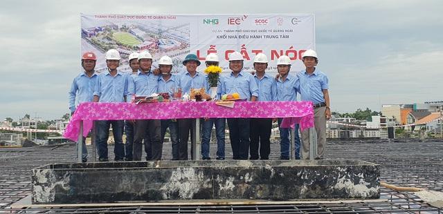 Chuẩn bị cất nóc dự án Thành phố giáo dục IEC Quảng Ngãi - Ảnh 5.