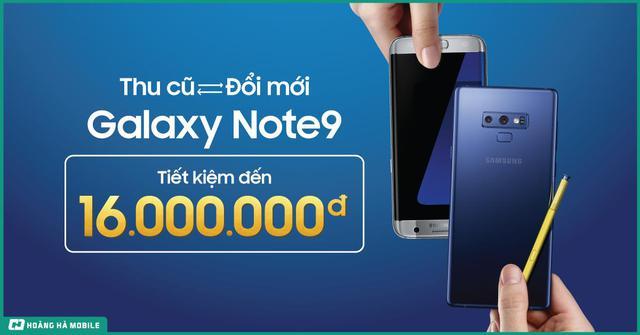 2 phương pháp mua Galaxy Note 9 mới tiết kiệm nhất hiện nay - Ảnh 1.
