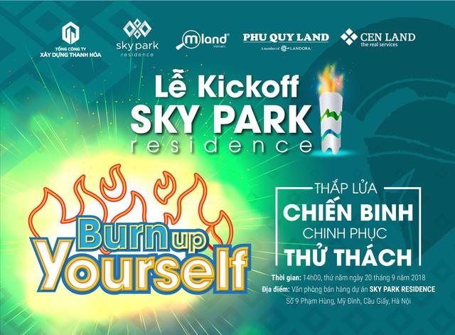 Lễ ra quân dự án Sky Park Residence: Khơi dậy tinh thần chiến binh - Ảnh 1.
