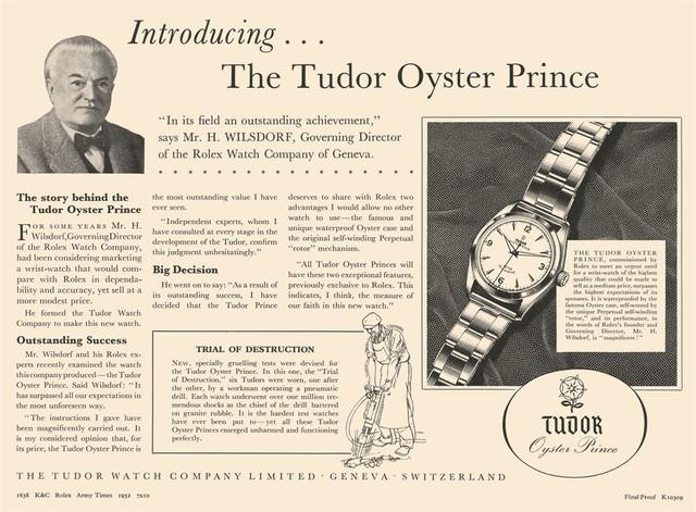 """Câu chuyện về Tudor – """"người anh em ruột thịt của Rolex"""" - Ảnh 1."""