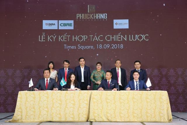 Phúc Khang chọn DKRA Vietnam phân phối chủ lực Rome Diamond Lotus - Ảnh 1.