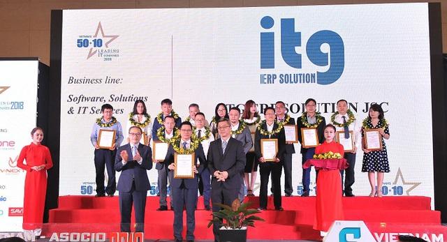 ITG – Nhà cung cấp giải pháp ERP được xếp vào nhóm 50+10 Doanh nghiệp CNTT hàng đầu Việt Nam - Ảnh 1.