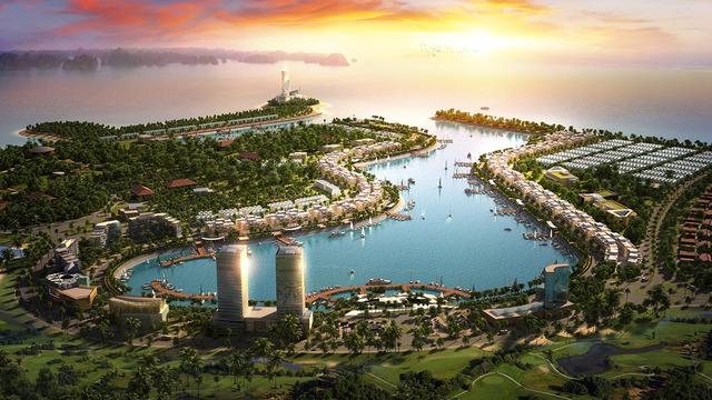 Hạ tầng giao thông tăng tốc để về đích, điểm cùng hút vốn của Tuần Châu Marina - Ảnh 1.