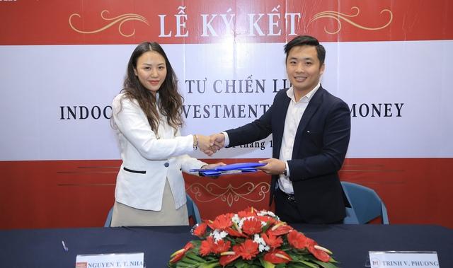 Viet money ký kết hợp tác và đầu tư với quỹ tài chính Indochine Investment - Ảnh 1.