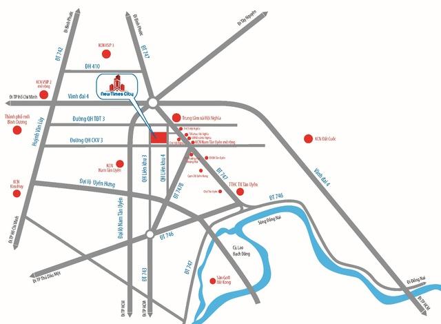 New Times City chiếm lợi thế thị trường Bình Dương - Ảnh 1.