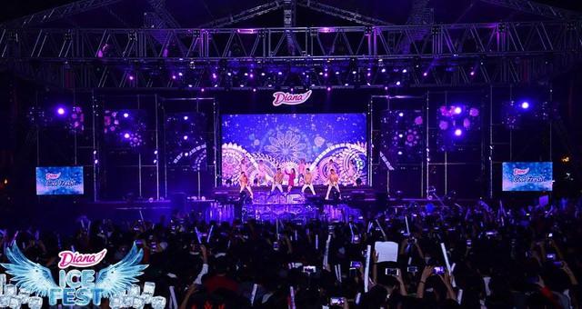 Mang nhóm nhạc Hàn Quốc về biểu diễn tại Việt Nam, có ai chịu chi như Diana? - Ảnh 5.