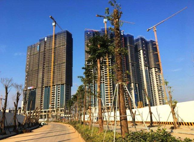 Liên tiếp cất nóc vượt tiến độ, Sunshine City Hà Nội tăng tốc vào cuối năm - Ảnh 2.