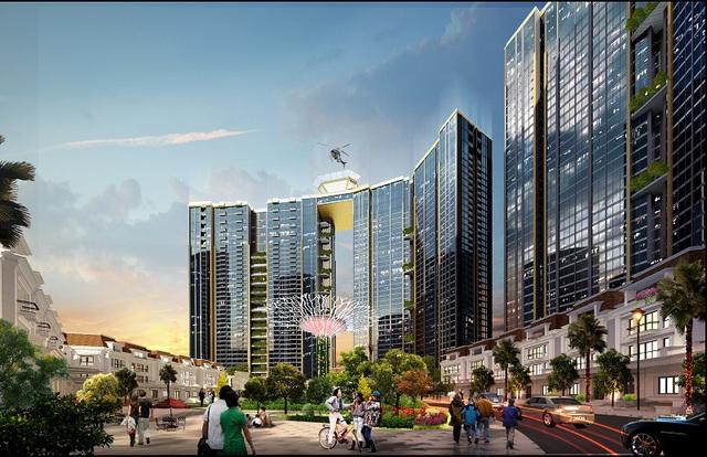 Liên tiếp cất nóc vượt tiến độ, Sunshine City Hà Nội tăng tốc vào cuối năm - Ảnh 3.