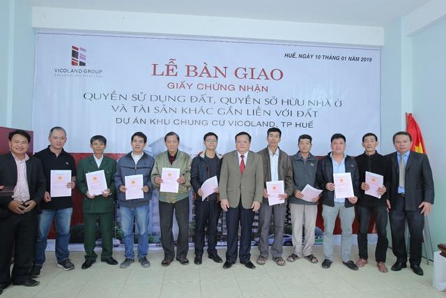 Vicoland tiếp tục bàn giao sổ hồng cho khách hàng tại Đà Nẵng và Huế - Ảnh 1.