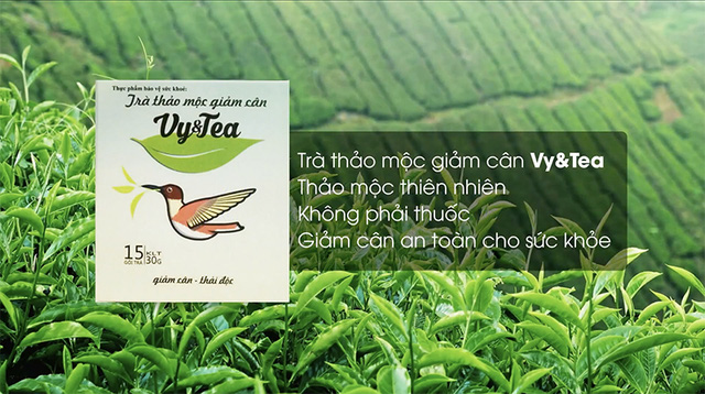 Giảm cân từ thảo mộc thiên nhiên với trà Vy&Tea - Ảnh 1.