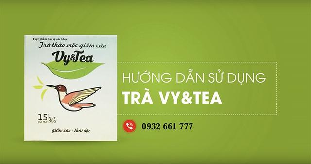 Giảm cân từ thảo mộc thiên nhiên với trà Vy&Tea - Ảnh 2.