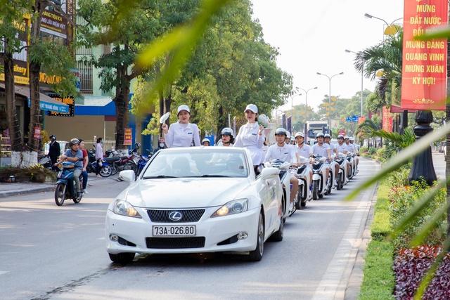 """FLC Quảng Bình khởi động năm 2019 tại """"sân nhà"""" với roadshow hoành tráng - Ảnh 2."""