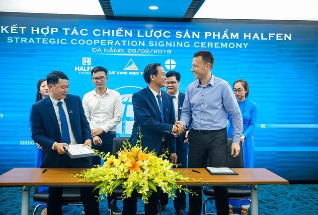 Đất Xanh Miền Trung ký kết hợp tác chiến lược sản phẩm với công ty Halfen - Ảnh 2.