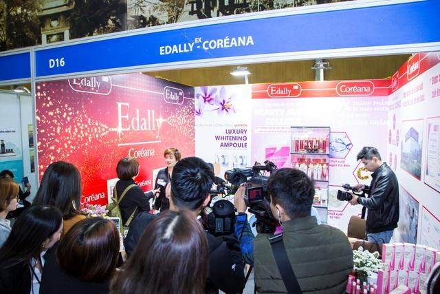 Thương hiệu mỹ phẩm Edally khẳng định vị thế tại triển lãm Inter Beauty Viet Nam 2019 - Ảnh 1.