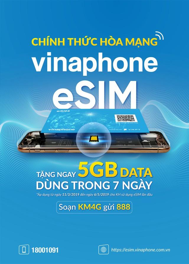 VinaPhone chính thức cung cấp eSIM miễn phí trên toàn quốc - Ảnh 1.