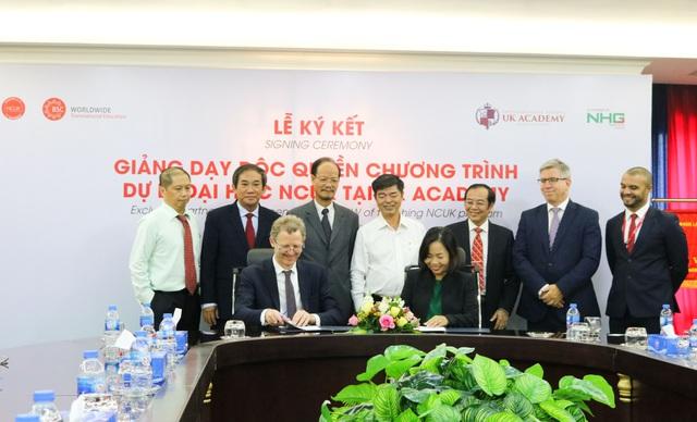 NHG ký kết hợp tác độc quyền chương trình NCUK với BSCW - Ảnh 1.