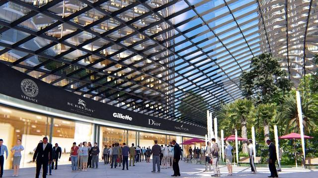 Hà Nội sắp có đại trung tâm thương mại quốc tế đầu tiên - Ảnh 2.