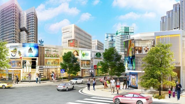 Ra mắt đô thị thương mại cửa ngõ sân bay Long Thành - Ảnh 2.