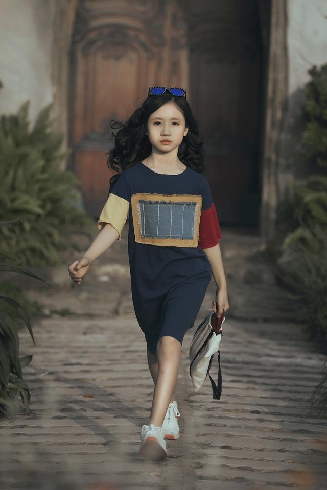 Mẫu nhí biến hóa đa dạng tại tuần lễ thời trang trẻ em Việt Nam - Ảnh 13.