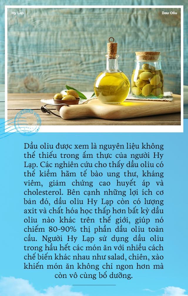 Giải mã nguồn dinh dưỡng dồi dào trong ẩm thực Hy Lạp - Ảnh 1.