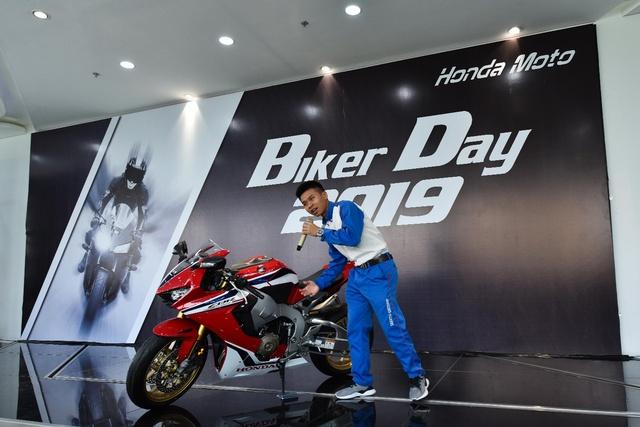 Honda Việt Nam tổ chức Ngày hội trải nghiệm xe mô tô - Biker Day cho gần 200 khách hàng trên toàn quốc - Ảnh 1.